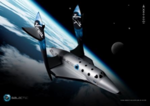 Virgin Galactic Feathering system of SpaceShipTwo