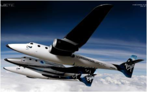 Virgin Galactic Space Ship Two and White Knight Two