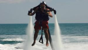 Per testing a jet pack